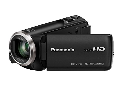 Panasonic HC-V180EG-K - Videocámara (2,51 MP, MOS BSI, 25.4/5.8 mm (1/5.8