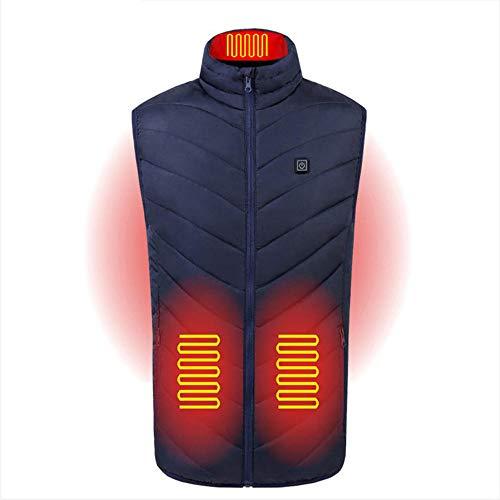 cyxb Chaleco Calefactor para Hombre y Mujer,Chaleco Calefactor eléctrico de grafeno USB,Traje...