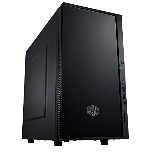 Cooler Master Silencio 352 PC-Gehäuse 'micro-ATX, Mini-ITX, USB 3.0, Fensterloses Seitenteil ' SIL-352M-KKN1