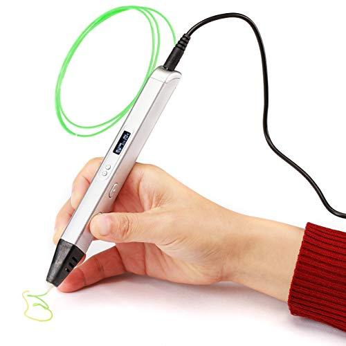 3D-printer 3D Pen Set for kinderen met gratis vulling gloeidraad speelgoed for Jongens Meisjes Leeftijd 6 Up Toy JFCUICAN
