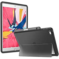 Youmaker Frosted Clear Kickstand for iPad 7th Gen 10.2 Inch Case