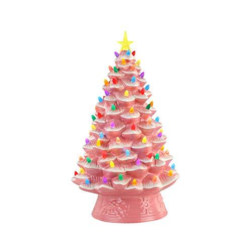 Mr. Christmas Nostalgic Tree 18'-Pink Christmas Décor, inch