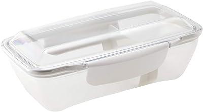 小森樹脂 弁当箱 ホワイト 500ml プレミアム ドームランチボックス KLBTL5