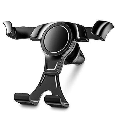 Soporte para teléfono de coche, operación automática con una sola mano, puede girar 360°, apto para iPhone 11pro Max/XS Max/8S Plus Galaxy S10/S9 Huawei y otros teléfonos de 4-6 pulgadas