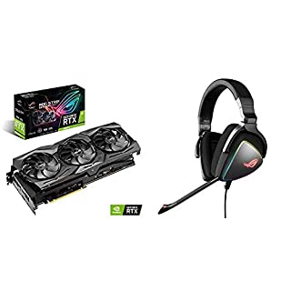 ASUS ROG Strix GeForce RTX 2080 Ti - Tarjeta gráfica + ROG Delta - Auriculares gaming RGB con Hi-Res ESS Quad-DAC (B07N479MSS) | Amazon price tracker / tracking, Amazon price history charts, Amazon price watches, Amazon price drop alerts