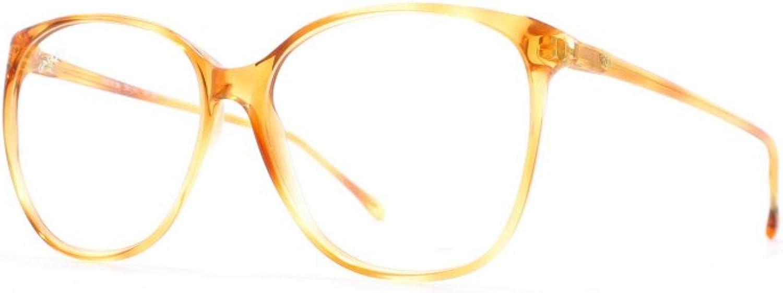 Galileo Nadir 06 21 Brown Certified Vintage Rectangular Eyeglasses Frame For Womens