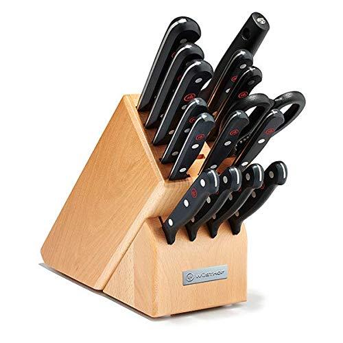Wusthof Gourmet 16 Piece Knife Block Set