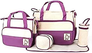 5 Pcs Baby Bag Mammy Set Handbag Carrier