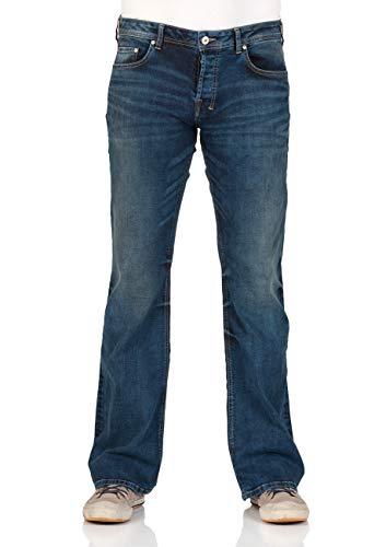 LTB Herren Jeans Tinman - Bootcut - Blue Lapis Wash, Größe:W 38 L 32