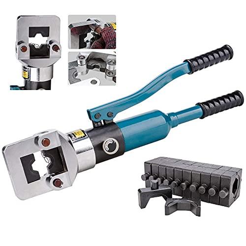 FSCLJ Alicates de crimpado hidráulicos 16-400 mm² alicates de terminales de Cable, alicates para prensar hidráulicos 20T para Electricidad, comunicaciones, Transporte, Industria petroquímica etc.