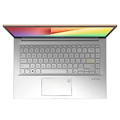 ASUS Vivo Book Ultra K14 2021, AMD Ryzen7 5700U, 14 inches FHD Thin and Light Business Laptop (8GB RAM/512GB SSD/Integrated Graphics/Office 2019/Windows 10/Transparent Silver/1.4 Kg), KM413UA-EB703TS
