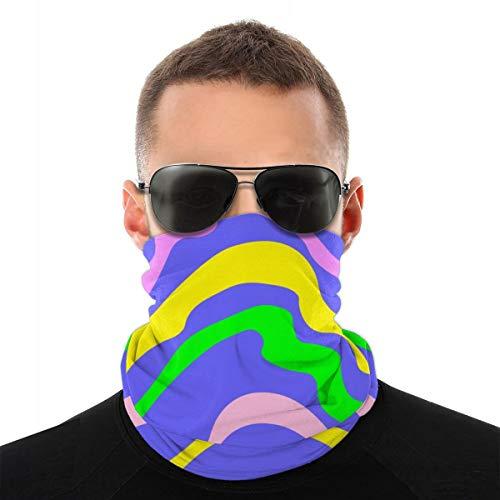 JOJOshop Ademend Gezichtsmasker Bandana Zon UV Bescherming Hals Gaiter Sjaal Snoepjes Met Jelly Multifunctionele Hoofddeksels Voor Zomer Fietsen Vissen En Wandelen