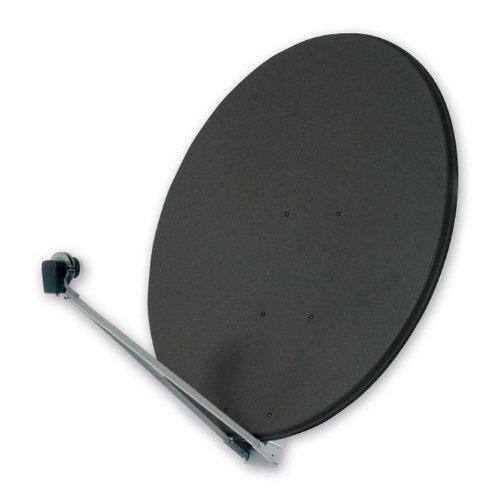 OFA 121 P - Graphitfarbene Profi-Satelliten-Parabolantenne mit einem Durchmesser von 120 Zentimetern