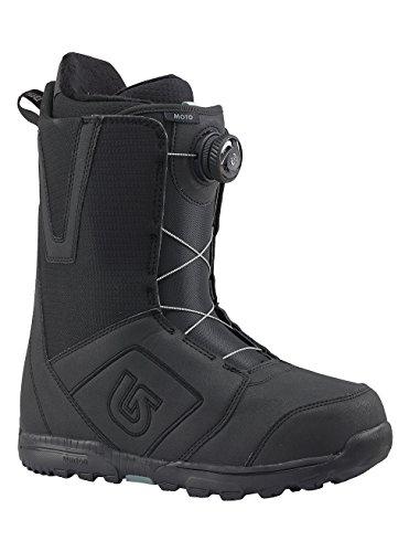 Burton Herren Moto Boa Snowboardboots, Black, 11