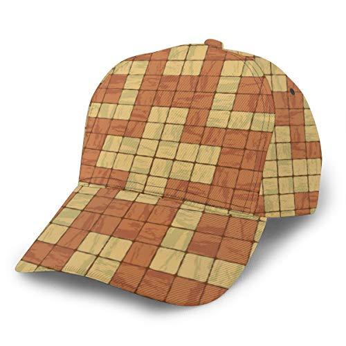 Baseball Cap Nahtlose Textur der Stonewall Fliese Trucker Hat Sun Baseball Cap einstellbare Hysteresenhut Hip Hop Cap