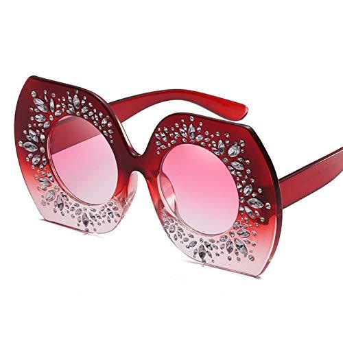COCKE Gafas de Sol Mujer polarizadas Gafas de Sol polarizadas Retro Clásico Medio Marco Cuadradas para Conducir y Deportes al Aire Libre Polarizadas Gafas de Sol Mujer Hombre
