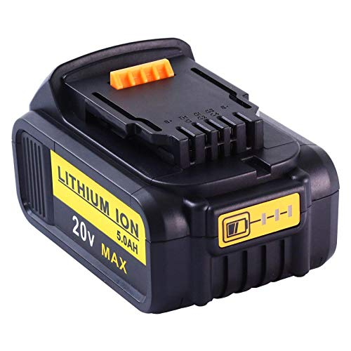 2Pcs 20V 4.0Ah Rechargeable Power Tools Battery Replacement for DCB200 DCB181 DCB182 DCB204 DCB101 DCF885 DCF887