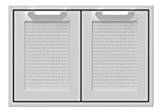 Made in the USA Features Available in 30″, 36″ and 42″ widths Patent-pending Horizon Hood opens easily with spring-assisted hinges and holds at desired height Patent-pending motion-activated Stadium Lights halogen under-hood lighting illuminates cook...