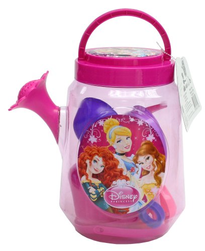 What Kids Want! Disney Princess Large Clear Watering Can (Filled)