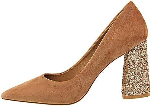 MENGLTX High Heels Sandalen Frauen Pumps Frühling Frühling Frühling Sommer Klassische Spitze Drees Schuhe Größe 34-39 Mode High Heels Schuhe  perfekt