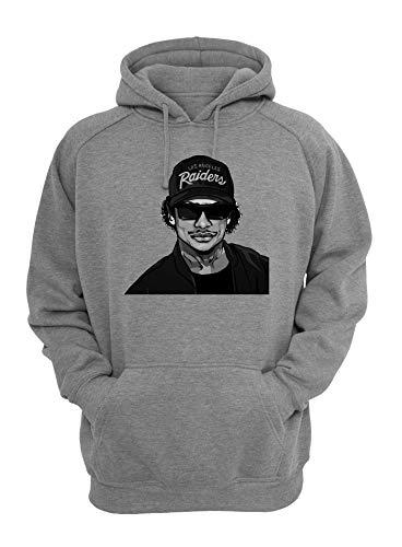 ShutUp Compton NWA We Want Eazy Sweatshirt met capuchon, unisex