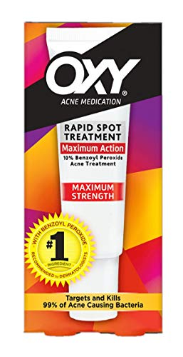 OXY Acne Medication Maximum Action Spot Treatment 0.82 oz  (Pack of 5)