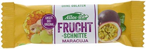 Allos Fruchtschnitte Maracuja, Allos, 25er Pack (25 x 30 g)