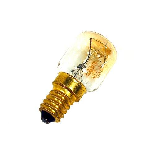 Whirlpool 25 Watt Kühl-/Gefrierschrank-Lampe, E14, Teilenummer 481281728319