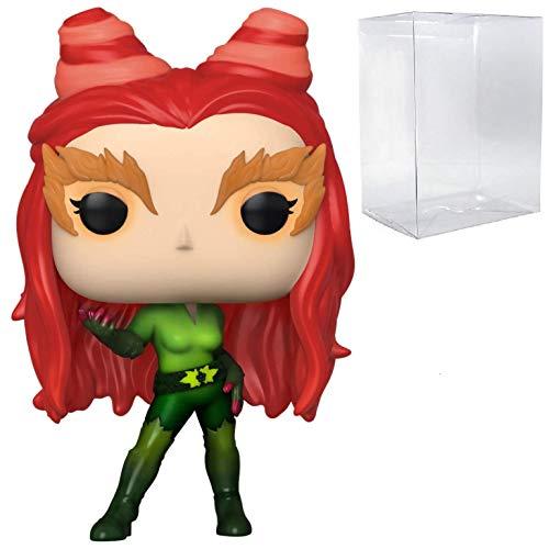 Poison Ivy Specialty Series Pop #343 Pop Heroes: Batman y Robin figura de vinilo (con protector EcoTek para proteger la caja de pantalla)