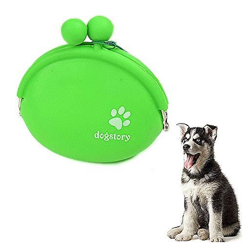 jingxiaopu Bolso Merienda Perro Bolsa Premios Perro Perro Tratamiento De Cintura Bolsa Bolso Perro PequeñO For Adiestramiento Canino Trae Juguetes Y Bocadillos Green