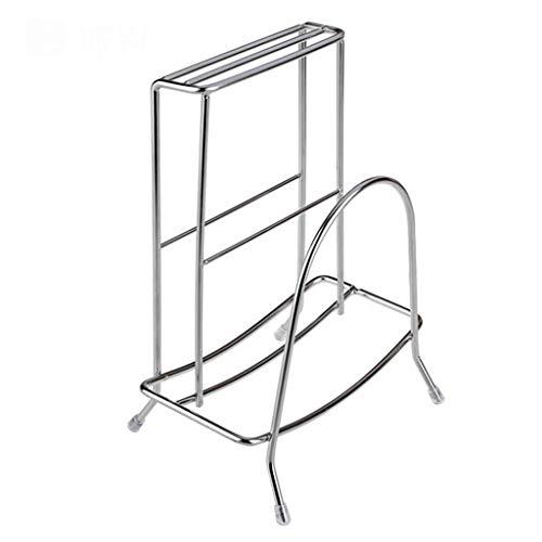 Pyrojewel Estante de la cocina Lixin 304 de acero inoxidable Cubiertos Rack (Color: Plata, tamaño: 22.4 * 12.3cm) (Color: Plata, tamaño: 22.4 * 12.3cm) Adecuado para dormitorio, sala de estar, baño, k