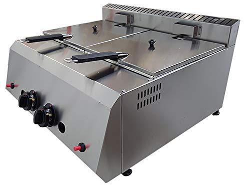 Deep Fryer 16 LT - TB-Industrial Propane - LPG Deep Fryer. CE Certificate (16 LT)
