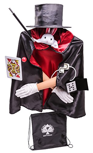 MMP Living Kids Magician Costume Set (Red/Deluxe)