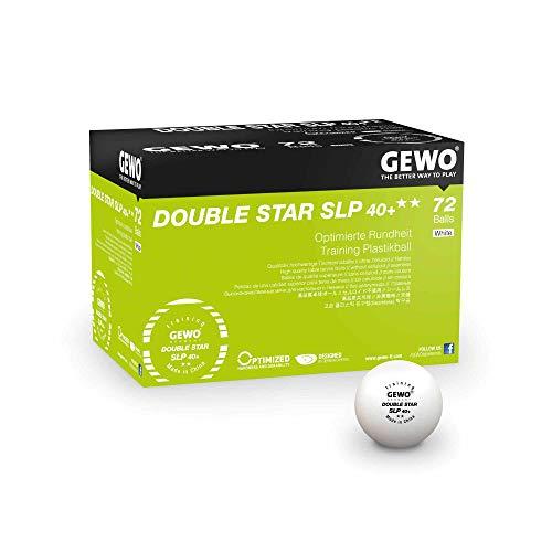 GEWO Ball Double Star SLP40+ 72er, weiß