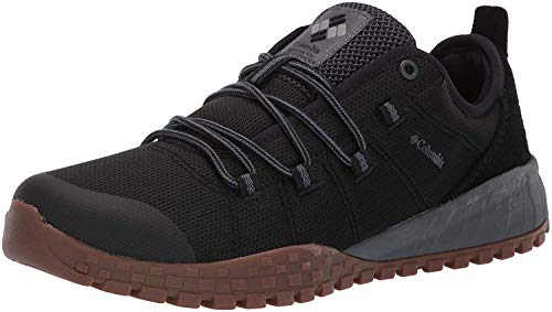 Columbia Men's Fairbanks Low Shoe, Breathable, High-Traction Grip Black, Graphite, 12