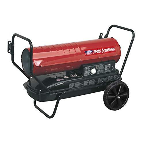 Sealey AB1008 Space Paraffin Kerosene & Diesel Heater with Wheels,...