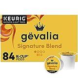 Gevalia Signature Blend Mild Light Roast K-Cup Coffee Pods (84 ct Box)