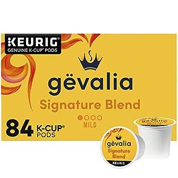 Gevalia Signature Blend Mild Light Roast K-Cup Coffee Pods  84 ct Box