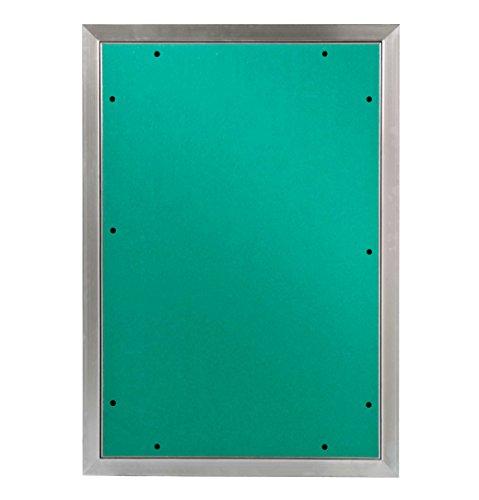 MW multi werkzeug Revisionsklappe 400 x 600 mm mit 12,5mm GK-Einlage imprägniert für Feuchtraum geeignet Aluminium-Rahmen 40 x 60 cm