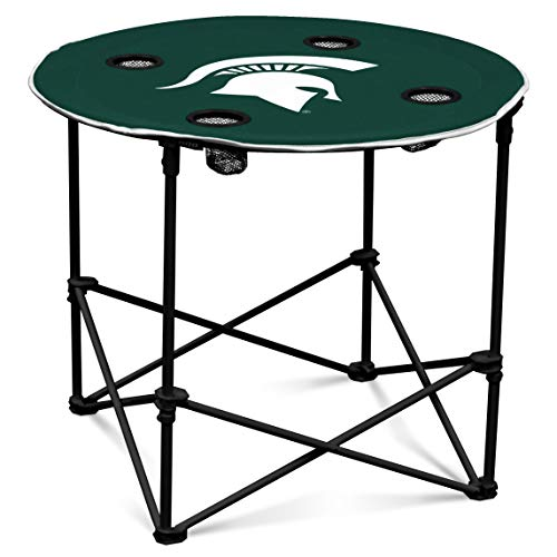 Team Color NCAA Logo Brands Michigan State Spartans Elite Chair