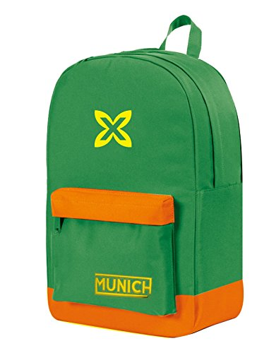 Munich Colors Mochila Tipo Casual, 45 cm, 19 Litros, Verde