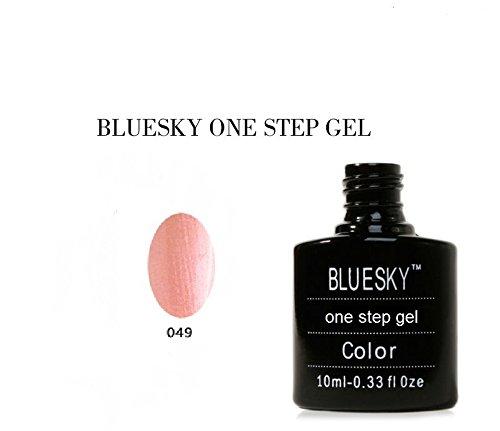 Bluesky UV/LED One Step Gel nagellak, Coral Gleam 15 ml
