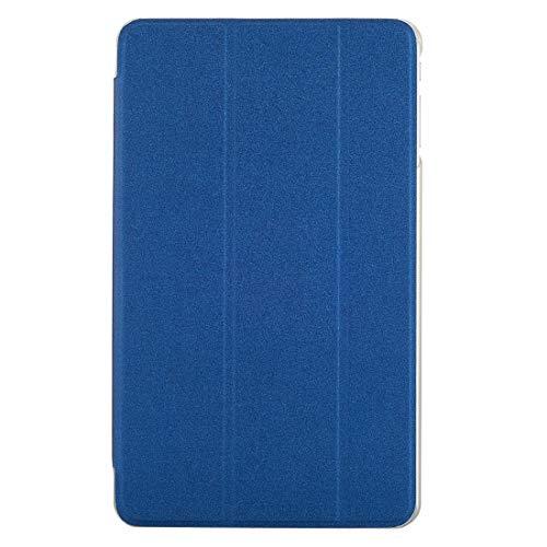 GHFPCASE Für Cube iwork8 Ultimate (S-WMC-0689) Frosted Texture Horizontal Flip Leder Tasche mit dreifach klappbarem Halter (Schwarz) (Farbe : Dark Blue)