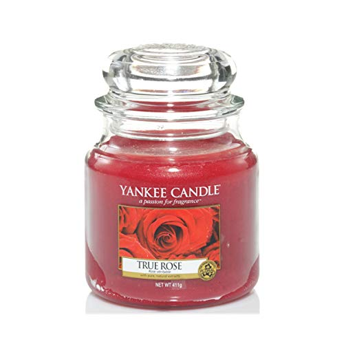 Yankee Candle Medium Jar Candle, True Rose