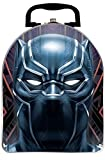 Black Panther Marvel Avengers Arch Head Shape Tin Lunch...