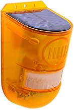 cherrypop Solar Strobe Light, 6LED Flashy Verlichting Solar Alarm Sirene 129DB IP65 Waterdicht met Verstelbare Modi voor T...