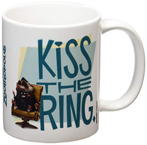 Zootropolis Kiss The Ring Taza de cerámica, Multicolor