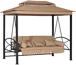 Garden Winds Replacement Canopy Top Cover for The CTS Gazebo Swing - Standard 350