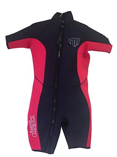 Women's Shorty Wetsuit - Zip Off Front Zip - 2200 (Small)