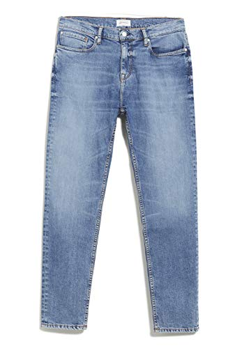 ARMEDANGELS Mannen Tapered Fit Denim - AARO - Denims / 5 Pockets Tapered